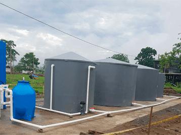 proceso secundario planta de tratamiento de aguas residuales