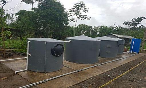Planta de tratamiento de aguas residuales industriales