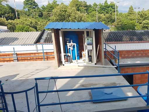 Equipos de tratamiento de aguas