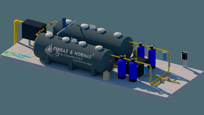 Equipo de tratamiento de aguas residuales